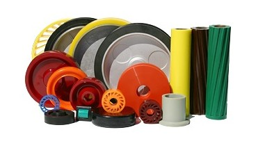Polyurethane Rollers, Wheels, and Helical Gears