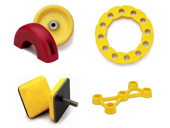 Urethane Cast Wheels and Bumpers