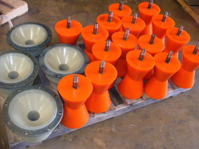 Molded Urethane Rollers and Components