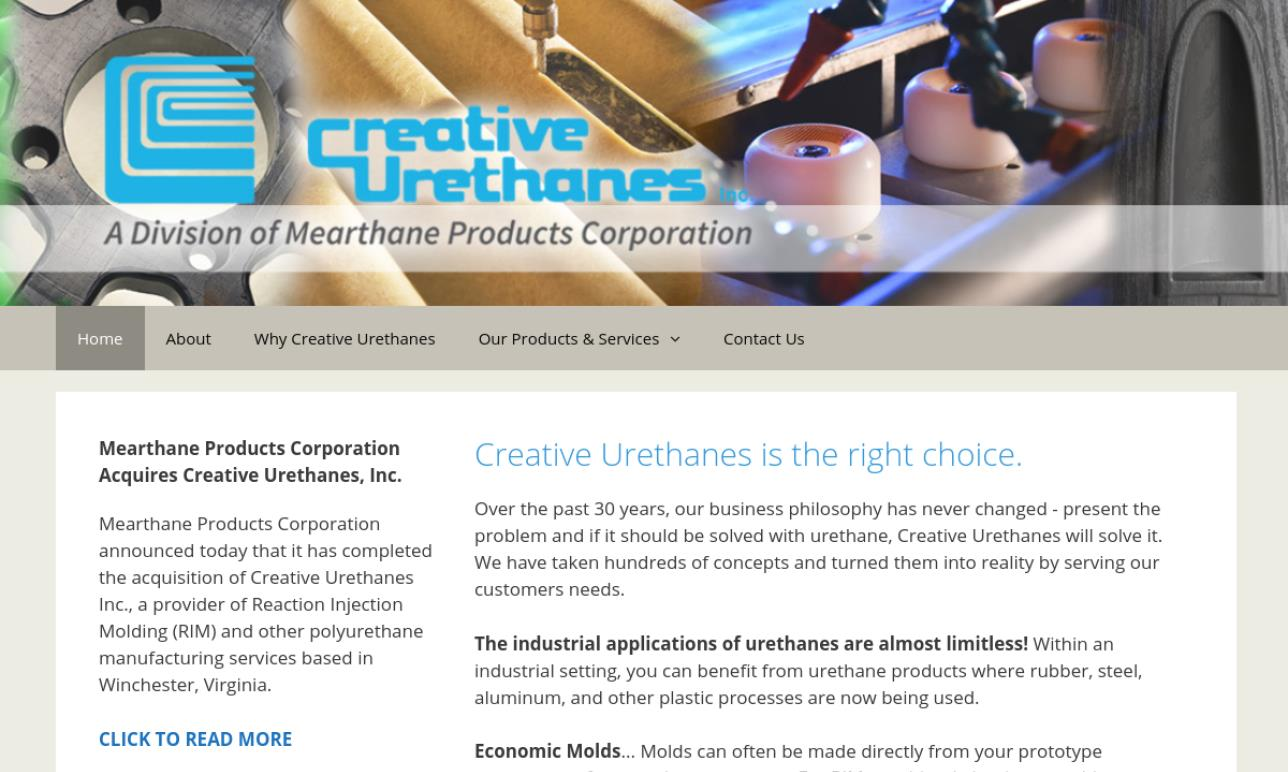 Creative Urethanes, Inc.