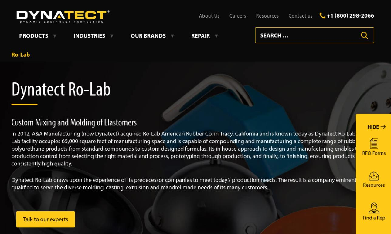 Dynatect Ro-Lab, Inc.