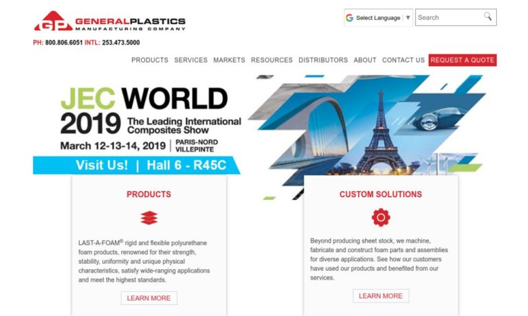 General Plastics Mfg. Co.