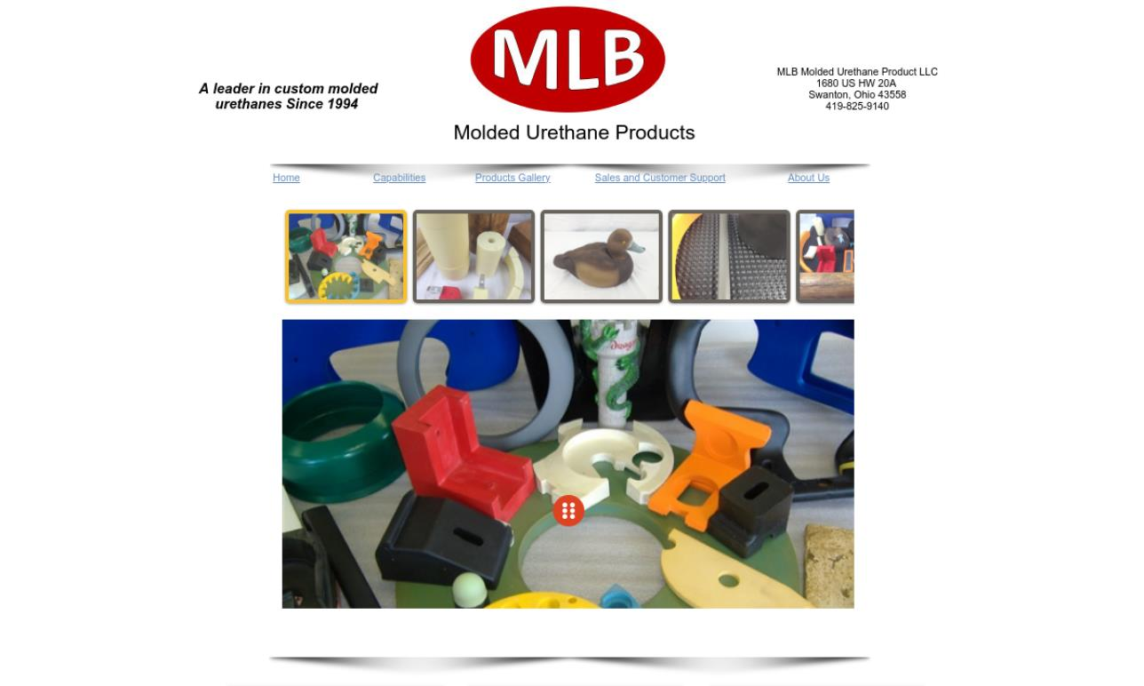 MLB Molded Urethane Products