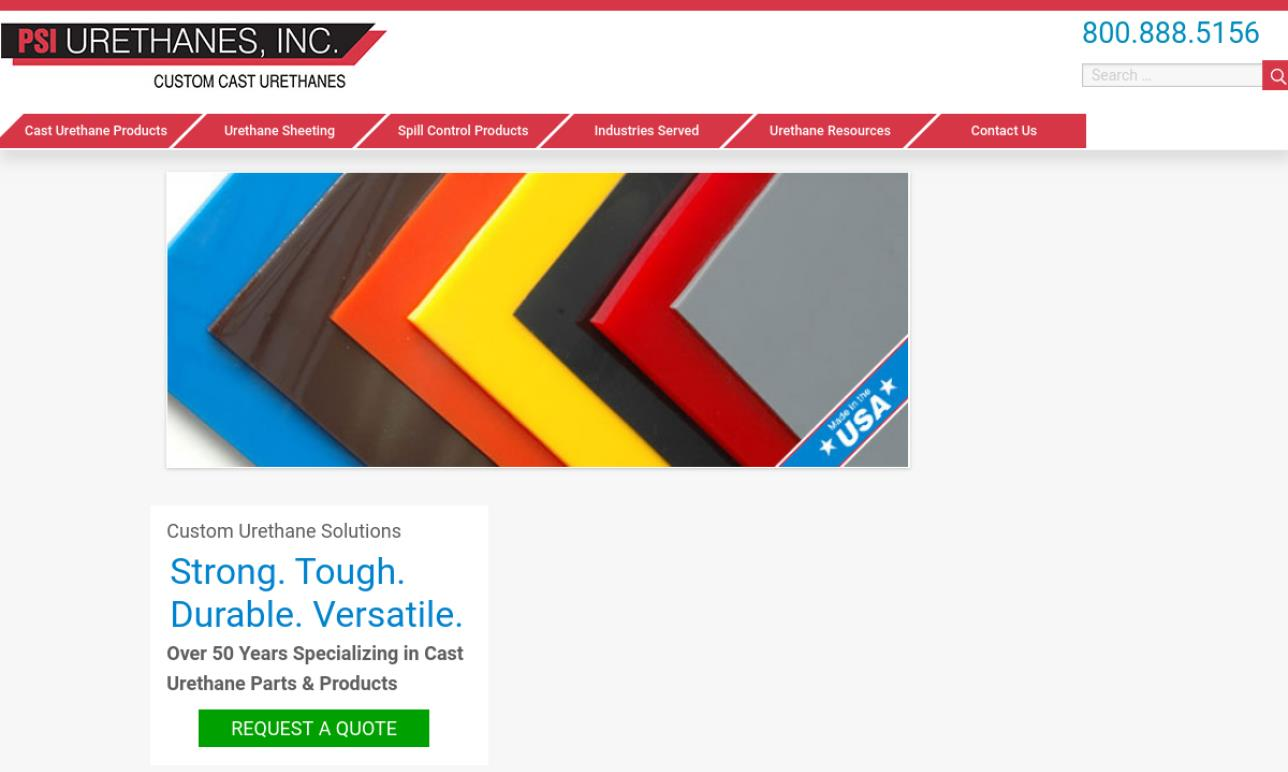 More Polyurethane Molding Manufacturer Listings