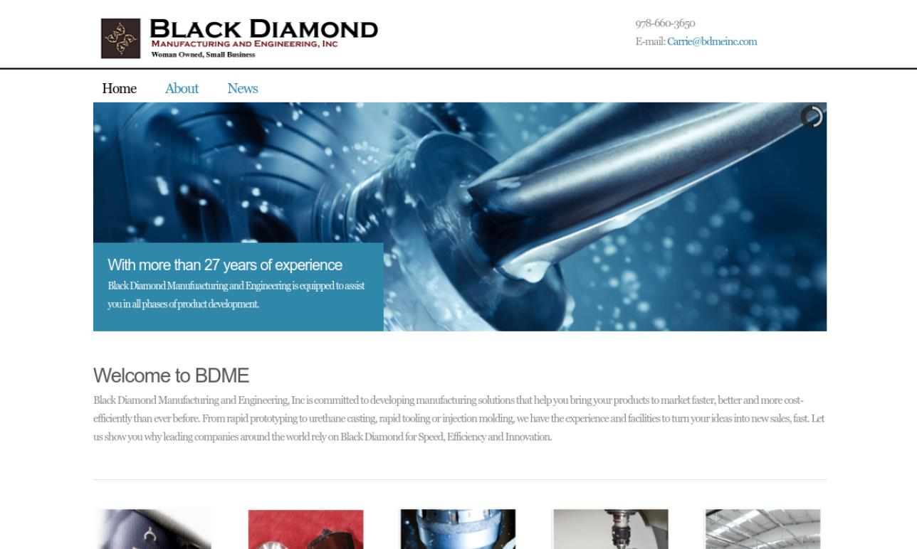Black Diamond Manufacturing and Engineering, Inc.