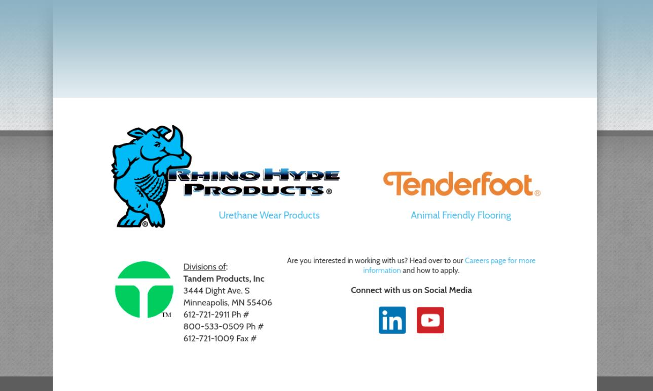 Tandem Products, Inc.