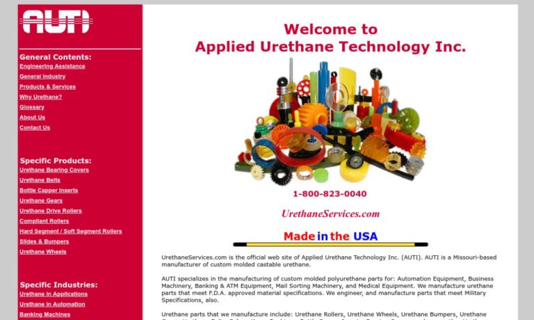 Applied Urethane Technology, Inc.