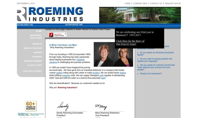 Roeming Industries, Inc.
